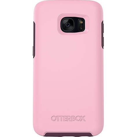 Otterbox Symmetry Case Samsung Galaxy S7 - Bubblegum Pink/Merlot Purple