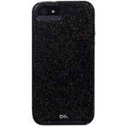 Case-Mate Sheer Glam Case iPhone SE - Noir/Clear Bumper