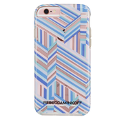 Case-Mate Rebecca Minkoff Naked Tough Print Case iPhone 6/6S - Pastel Geo Stripe