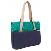 "STM Grace 15"" Deluxe Laptop Sleeve - Teal Dot"