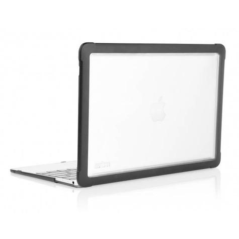 """STM Dux Case 12"""" Hardshell MacBook - Black"""