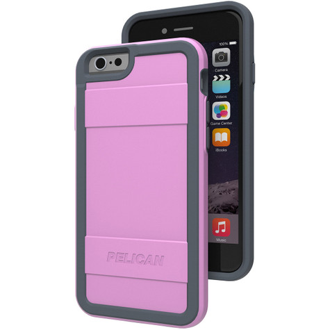 Pelican PROTECTOR Case iPhone 6/6S - Pink/Grey