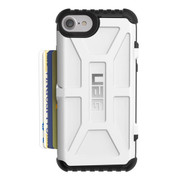 UAG Trooper Card Wallet Case iPhone 7/6/6S - White
