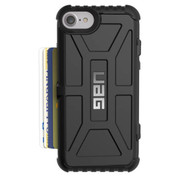 UAG Trooper Card Wallet Case iPhone 7/6/6S - Black