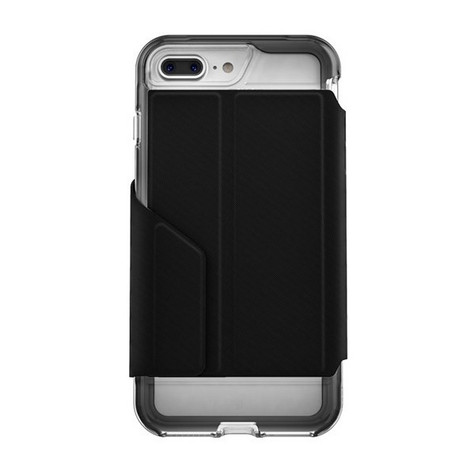 EFM Monaco D3O® Wallet Case iPhone 7+ Plus - Crystal/Black
