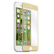 EFM Curved Edge Tempered Glass Screen Armour iPhone 7 - Gold
