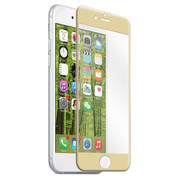 EFM Curved Edge Tempered Glass Screen Armour iPhone 7+ Plus - Gold