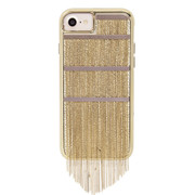 Case-Mate Fringed Metal Case iPhone 7/6/6S - Gold