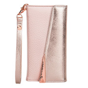 Case-Mate Wristlet Folio Wallet Case iPhone 7/6/6S - Rose Gold