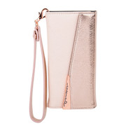 Case-Mate Wristlet Folio Wallet Case iPhone 7+/6+/6S+ Plus - Rose Gold