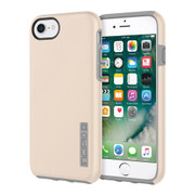 Incipio DualPro Case iPhone 7 - Iridescent Champagne/Gray
