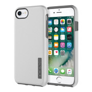 Incipio DualPro Case iPhone 7 - Iridescent Silver/Charcoal