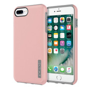 Incipio DualPro Case iPhone 7+ Plus - Iridescent Rose Gold/Gray