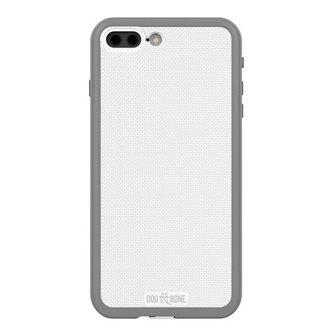 Dog & Bone Wetsuit Impact Waterproof Rugged Case iPhone 7+ Plus - White/Grey