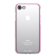 Dog & Bone Splash Drop Proof Case iPhone 7 - Pink