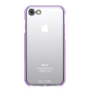 Dog & Bone Splash Drop Proof Case iPhone 7 - Purple