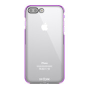 Dog & Bone Splash Drop Proof Case iPhone 7+ Plus - Purple