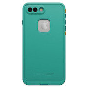 LifeProof FRE Case iPhone 7+ Plus - Light Teal/Maui Blue/Mango Tango
