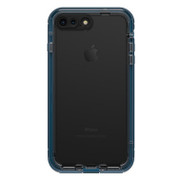 LifeProof NUUD Case iPhone 7+ Plus - Indigo/Blazer Blue/Clear