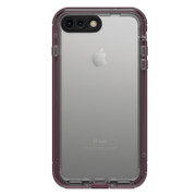 LifeProof NUUD Case iPhone 7+ Plus - Wild Berry/Deep Plum Purple/Clear