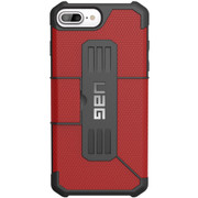 UAG Metropolis Folio Wallet Case iPhone 7+/6+/6S+ Plus - Magma