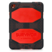 "Griffin Survivor All Terrain Case iPad Air 2/Pro 9.7"" - Smoke/Red"