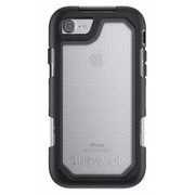 Griffin Survivor Summit Case iPhone 7 - Black/Clear