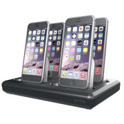 EFM 4 + 2 Charge Hub Apple MFi Approved V2 - Black