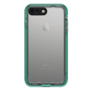 LifeProof NUUD Case iPhone 7+ Plus - Soft Mint/Taliside Teal/Clear