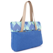 "STM Grace 13"" Deluxe Laptop Sleeve - Blue Diamonds"