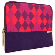 "STM Grace 11"" Laptop Sleeve - Purple Diamonds"