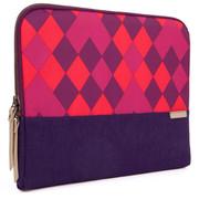 "STM Grace 11"" Laptop Sleeve - Purple Diamonds"