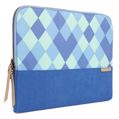 "STM Grace 11"" Laptop Sleeve - Blue Diamonds"