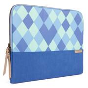 """STM Grace 11"""" Laptop Sleeve - Blue Diamonds"""