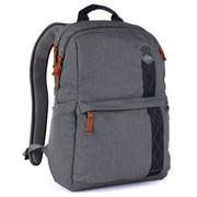"""STM Banks 15"""" Laptop Backpack 18L - Tornado Grey"""