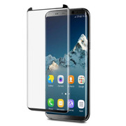 EFM Curved Tempered Glass Screen Armour Samsung Galaxy S8+ Plus - Black Frame