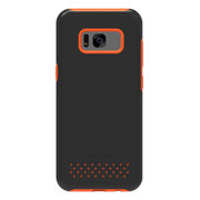 Dog & Bone Fortifier Rugged Sleek Defense Case Samsung Galaxy S8 - Orange/Black
