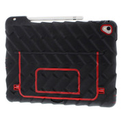 "Gumdrop Hideaway Case iPad Pro 9.7"" - Black/Red"
