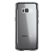 Griffin Survivor Clear Case Samsung Galaxy S8 - Black Smoke/Clear
