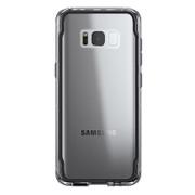 Griffin Survivor Clear Case Samsung Galaxy S8+ Plus - Black Smoke/Clear