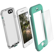LifeProof NUUD Case with Alpha Glass iPhone 7 - Teal/Clear