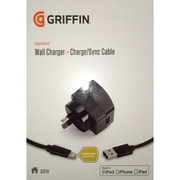Griffin PowerBlock 2.1 Amp Wall Charger + Lightning Cable