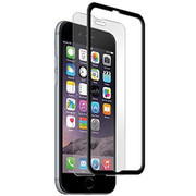 BodyGuardz Pure with The Crown Tempered Glass iPhone 6+/6S+ Plus - Black