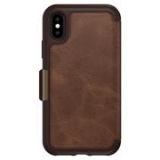 OtterBox Strada Wallet Case iPhone X - Espresso