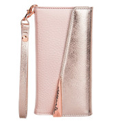 Case-Mate Wristlet Folio Case iPhone 8/7/6/6S - Rose Gold
