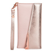 Case-Mate Wristlet Folio Case iPhone 8+ Plus - Rose Gold
