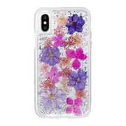 Case-Mate Karat Petals Case iPhone X - Purple