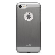 Moshi iGlaze Armour Case iPhone 7 - Gunmetal Grey