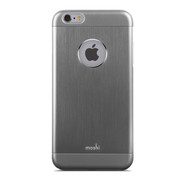 Moshi iGlaze Armour Case iPhone 6/6S - Gunmetal Grey