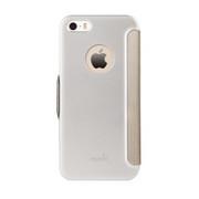 Moshi SenseCover Case iPhone 5/5S/SE - Brushed Titanium